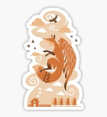The Flying Fox Sticker