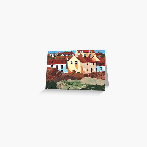 Pittenweem West Shore 5 Greeting Card