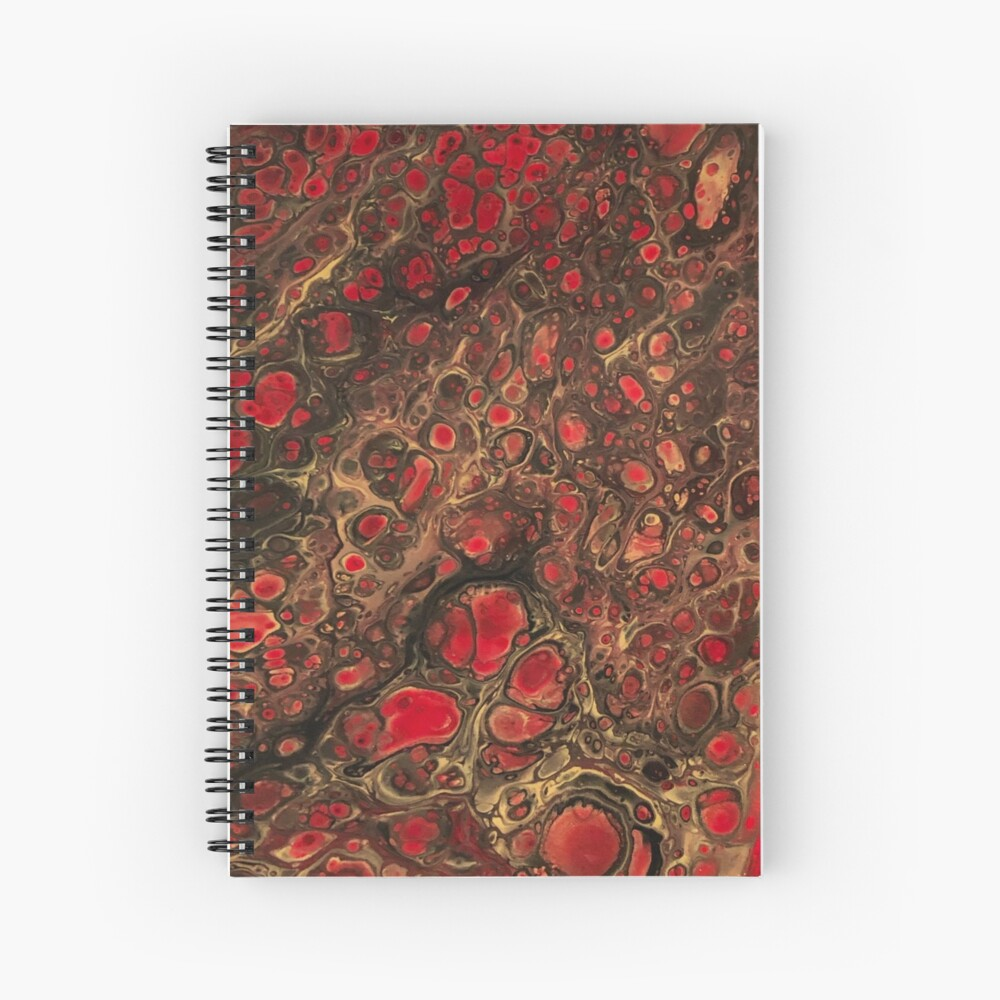 Magma Spiral Notebook