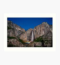 Moonbow @ Yosemite Falls Art Print