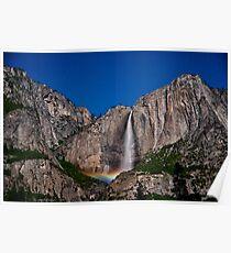 Moonbow @ Yosemite Falls Poster