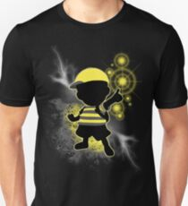 Super Smash Bros. Yellow/Black Ness Sihouette T-Shirt