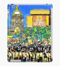 Irish Run To Victory iPad Case/Skin