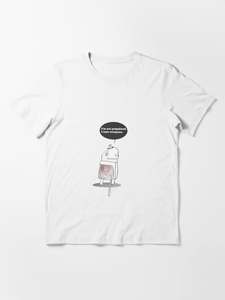 Alternate view of I Hate Everyone Essential T-Shirt