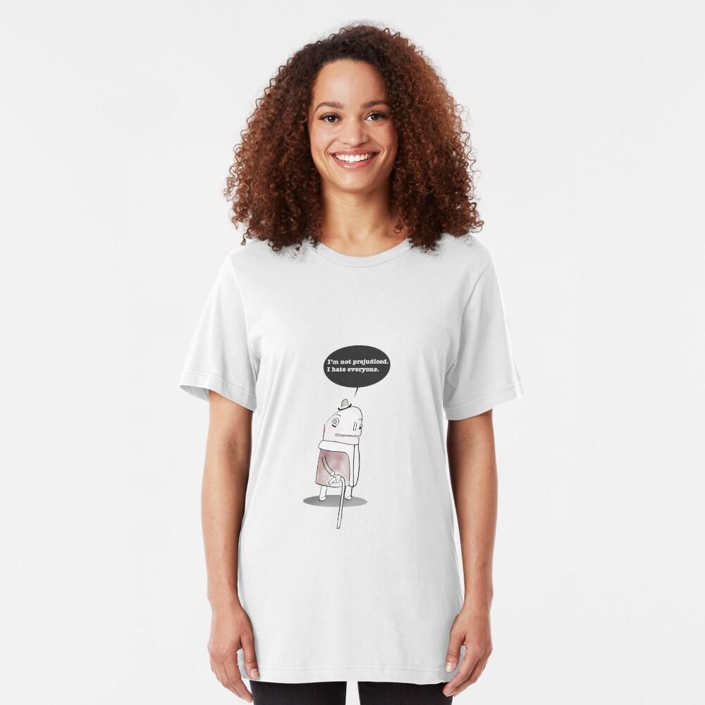 I Hate Everyone Slim Fit T-Shirt