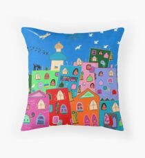 Return to Kiev Throw Pillow