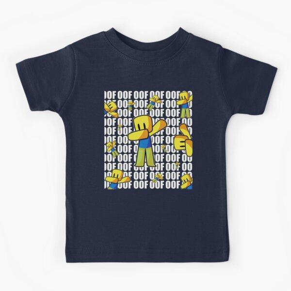 Roblox OOF Dabbing Dab Hand Drawn Pattern Gaming Noob Gift For Kids Kids T-Shirt