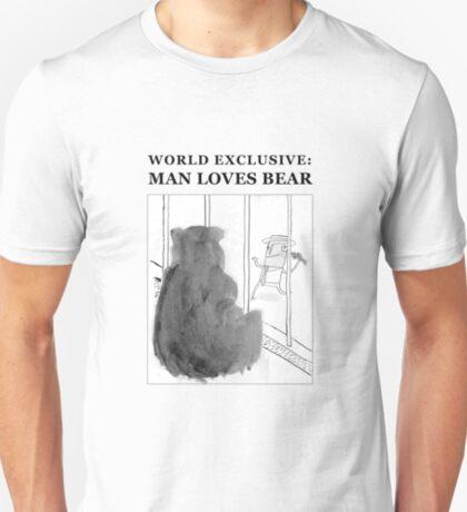Man Loves Bear T-Shirt