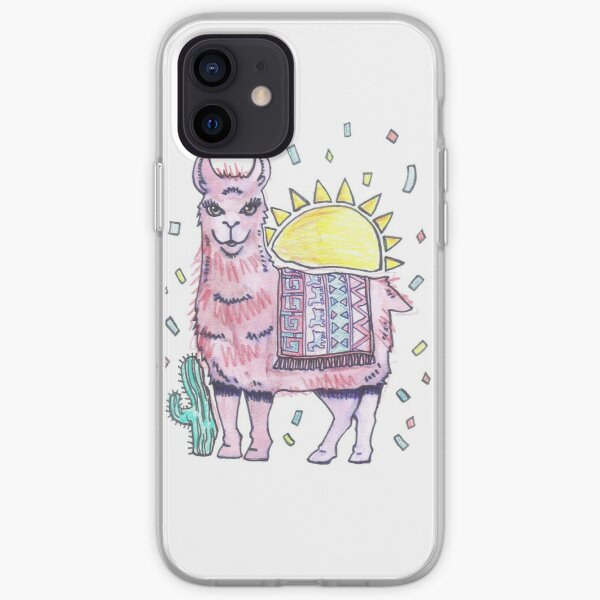 Rama Llama (no logo) iPhone Soft Case