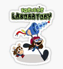 Jane Foster's Lab Sticker