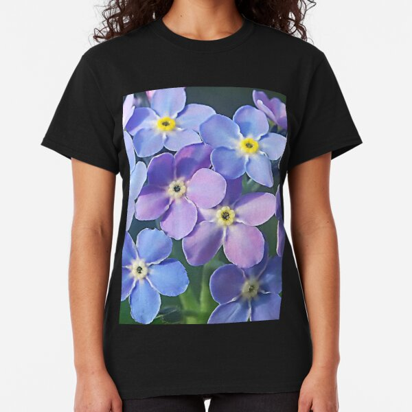 Forget me nots ,.....  if I remember right.! Classic T-Shirt