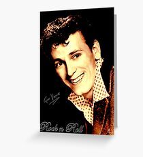 Gene Vincent Greeting Card