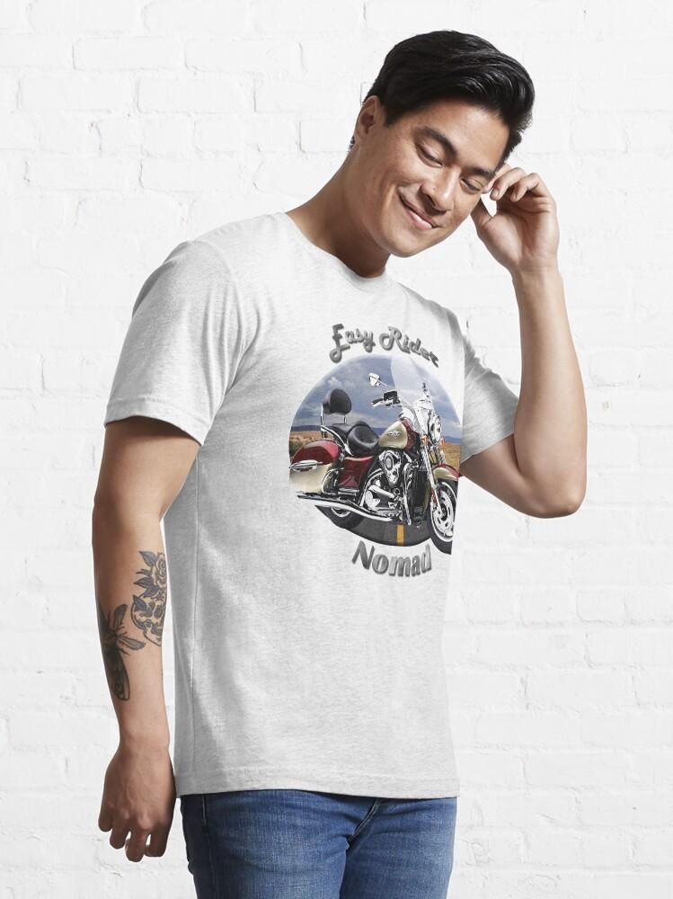 Alternate view of Kawasaki Nomad Easy Rider Essential T-Shirt