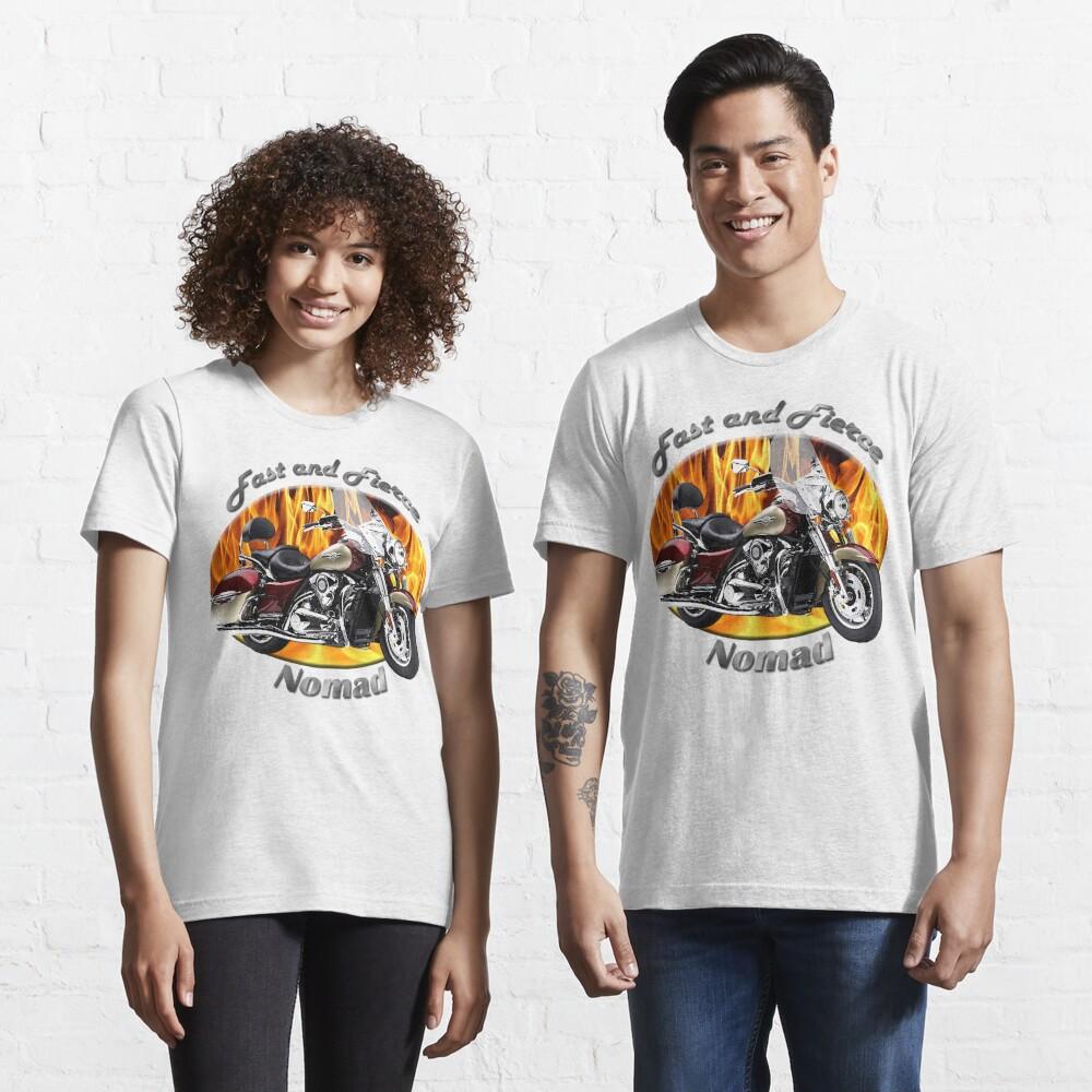 Kawasaki Nomad Fast And Fierce Essential T-Shirt