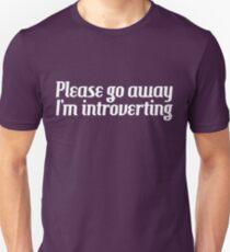 Introverting Unisex T-Shirt