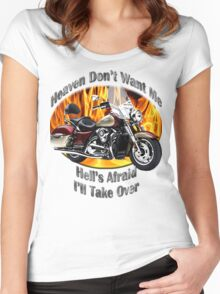 Kawasaki Nomad Heaven Don't Want Me Women's Fitted Scoop T-Shirt