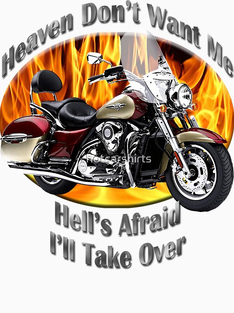 Kawasaki Nomad Heaven Don't Want Me by hotcarshirts