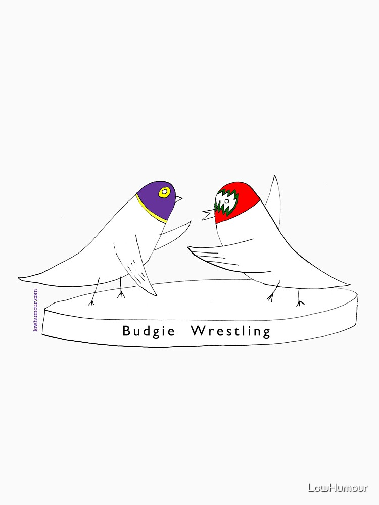 Budgie Wrestling by LowHumour