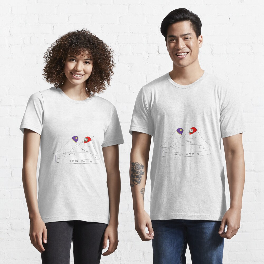 Budgie Wrestling Essential T-Shirt