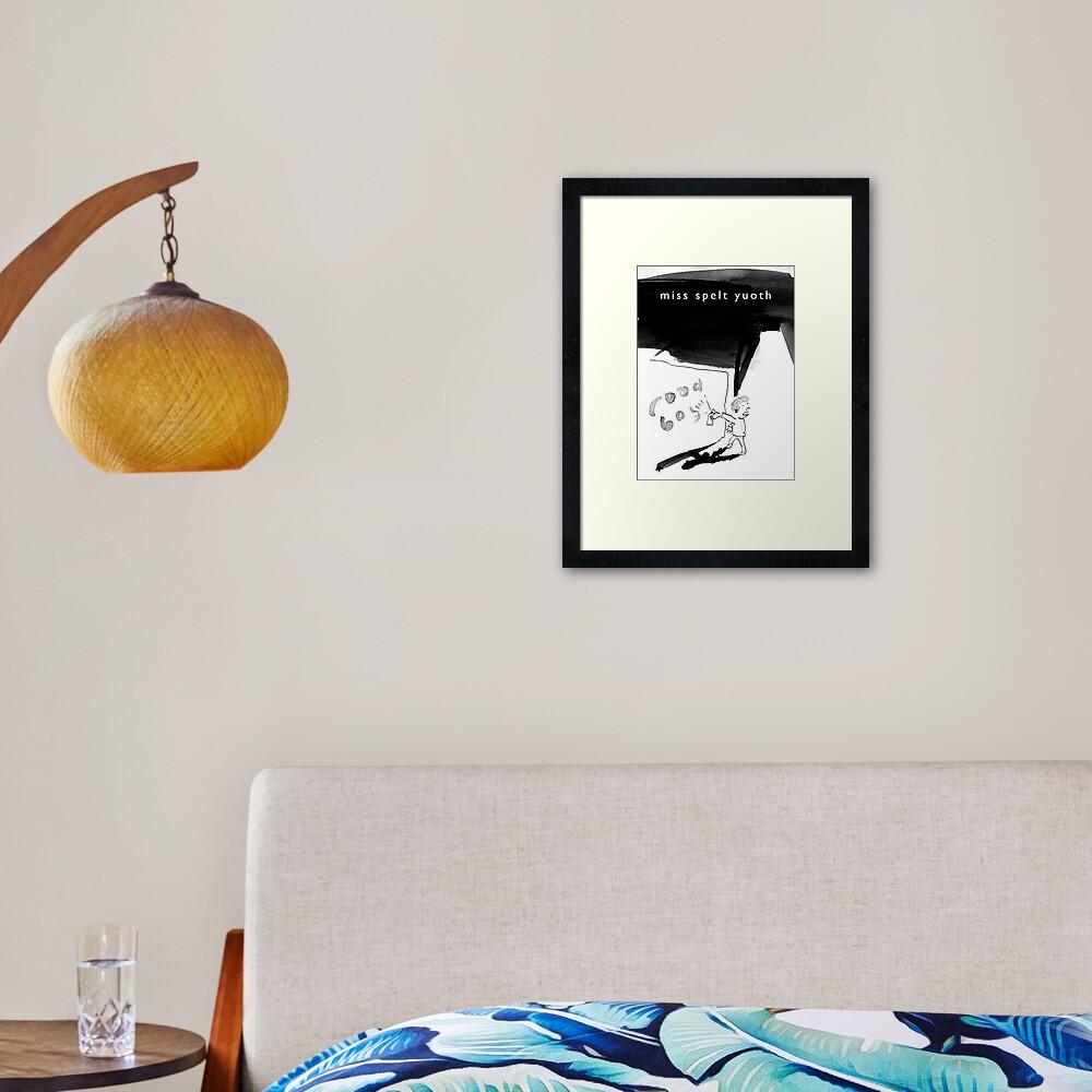 Rood Boy Framed Art Print