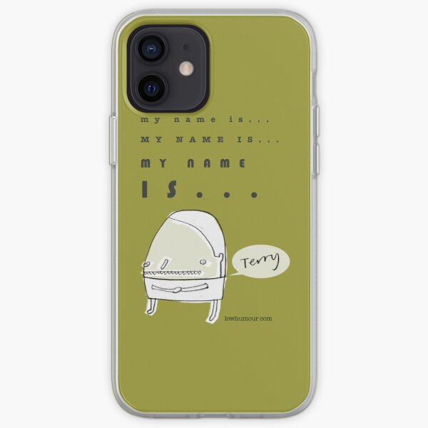 Hi, My Name Is.... Terry iPhone Soft Case