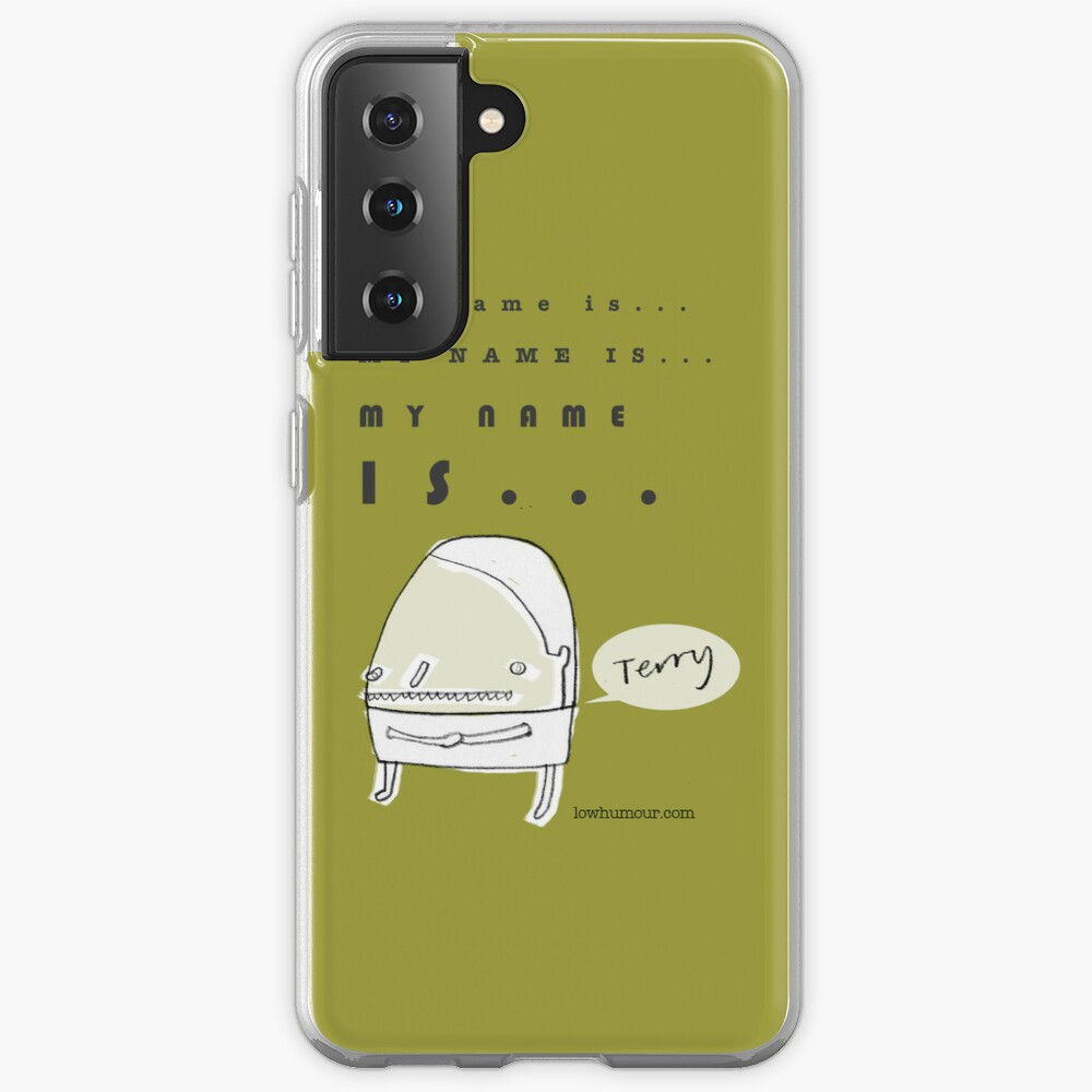 Hi, My Name Is.... Terry Case & Skin for Samsung Galaxy