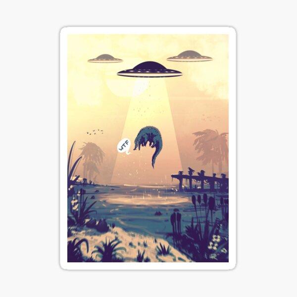UFO #WTF2 Sticker