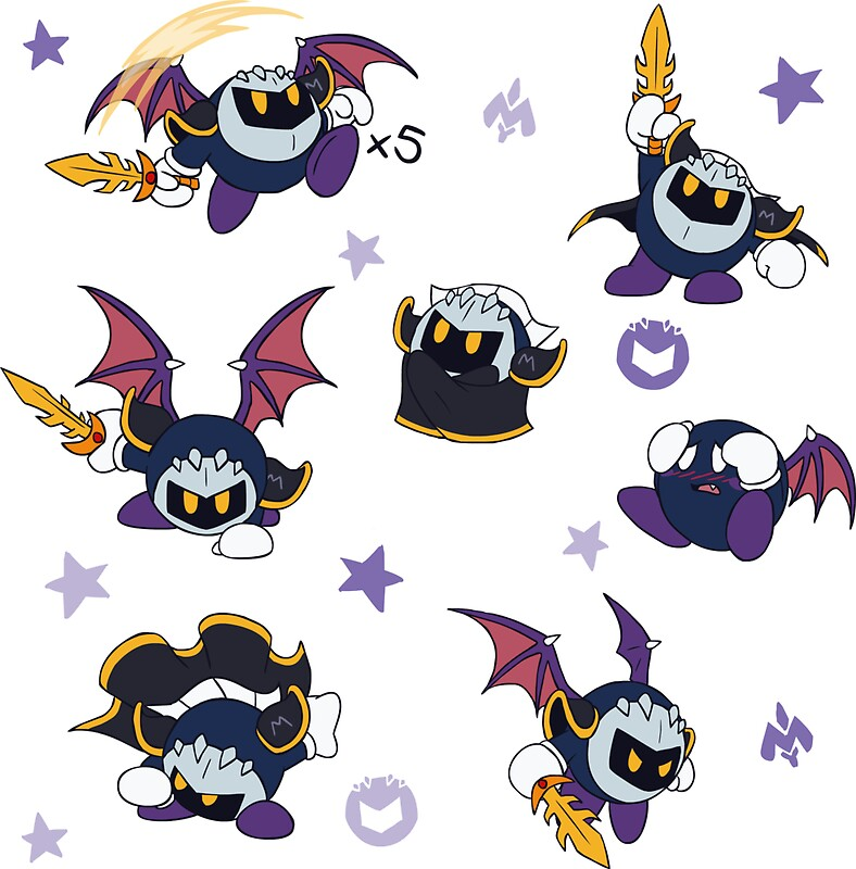Quot Chibi Meta Knight Quot Stickers By Vibrantechoes Redbubble