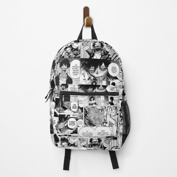 Dabi Manga Panel Backpack