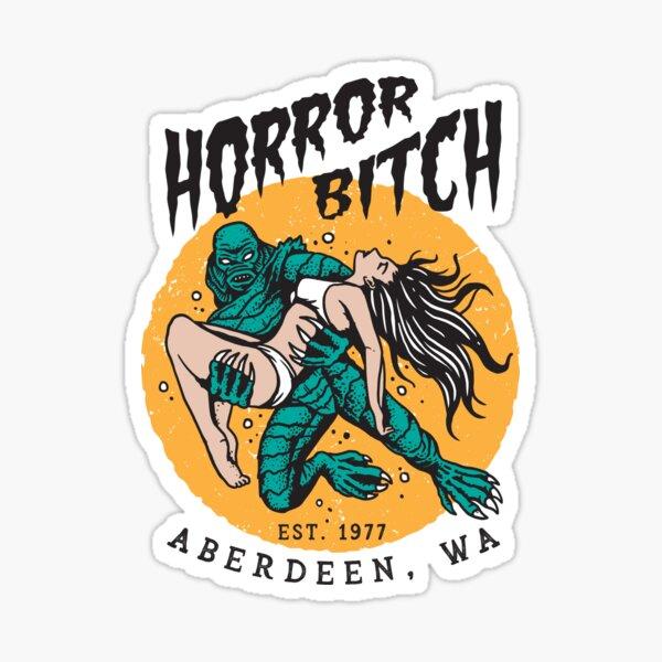 Horror Bitch! (creature, full color) Sticker
