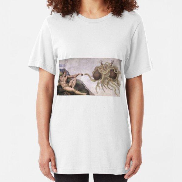 Flying Spaghetti Monster Slim Fit T-Shirt