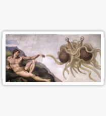 Flying Spaghetti Monster Sticker