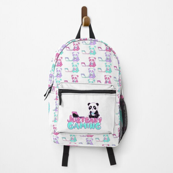 Just Gaby Gaming Tricolor Panda Backpack