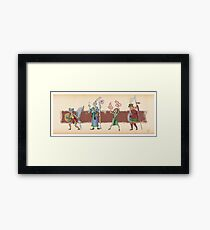 The Races of Cleadonia 1 Framed Print