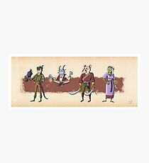The Races of Cleadonia 2 Photographic Print