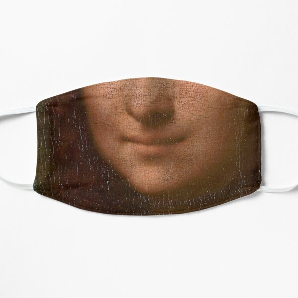 Mona Lisa Smiles Mask