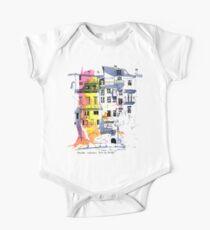 Maisons Suspendu, Pont-en-Royans, France One Piece - Short Sleeve