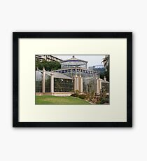 glasshouse Framed Print