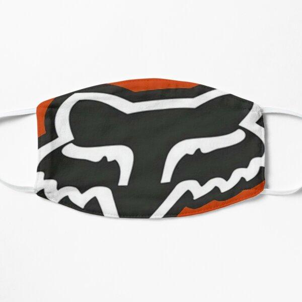 Collage de course orange Masque sans plis