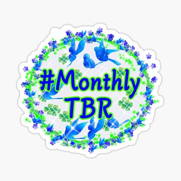 Monthly TBR Bookstagram Sticker