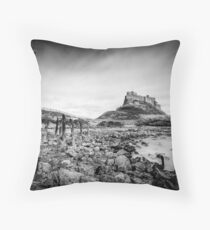 Lindisfarne Castle, The Holy Island Throw Pillow