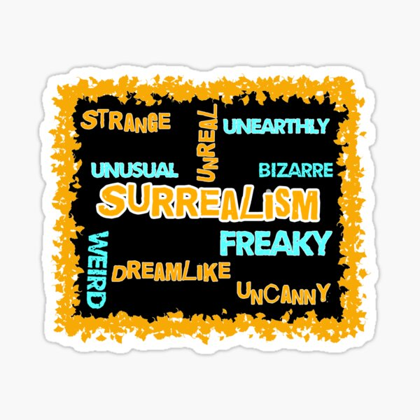 What Surrealism Means? Sticker