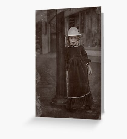 Child Of The Street Greeting Card