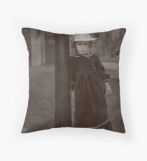 Child Of The Street Throw Pillow