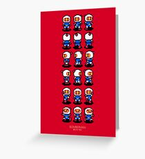 Bomberman Greeting Card