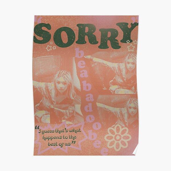 "Beabadoobee ""Sorry"" Poster"