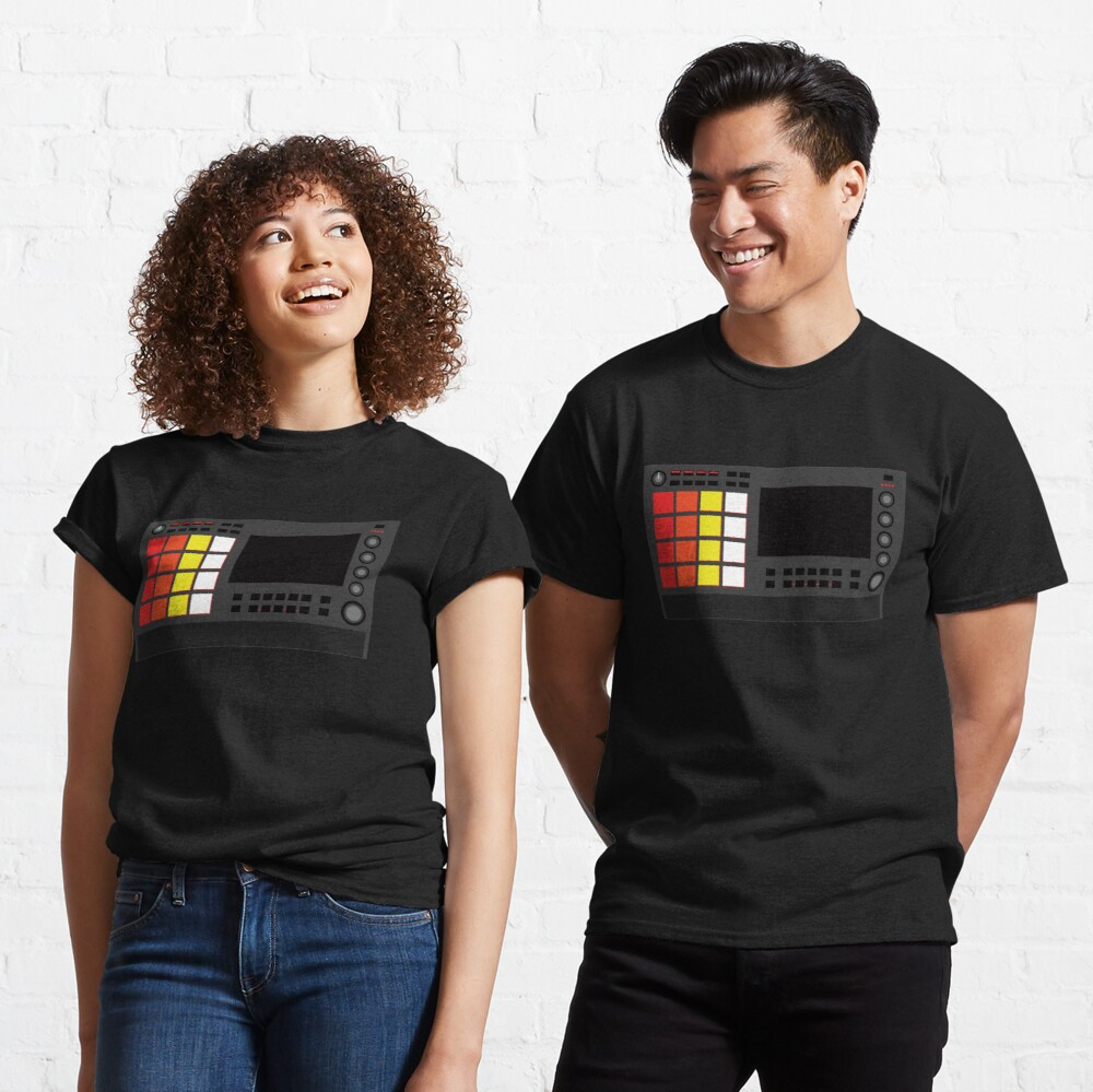 MPC Live 2 - Producer Life Gear - Dope Beat Machine Series #13 (w/Multicolored Pads) Classic T-Shirt