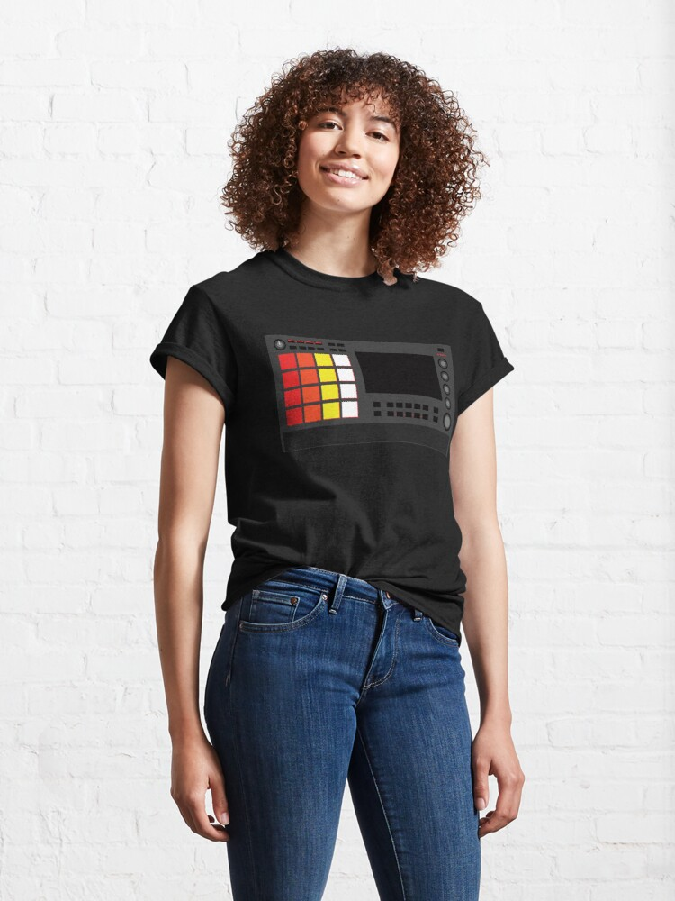 Alternate view of MPC Live 2 - Producer Life Gear - Dope Beat Machine Series #13 (w/Multicolored Pads) Classic T-Shirt