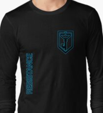 Ingress Resistance - Alt colors with text Long Sleeve T-Shirt