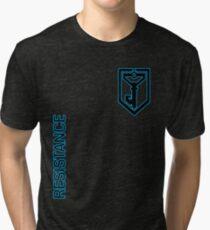 Ingress Resistance - Alt colors with text Tri-blend T-Shirt